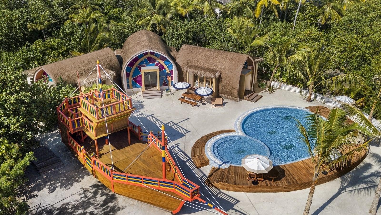 Мальдивы, отель JW Marriott Maldives Resort, детский клуб