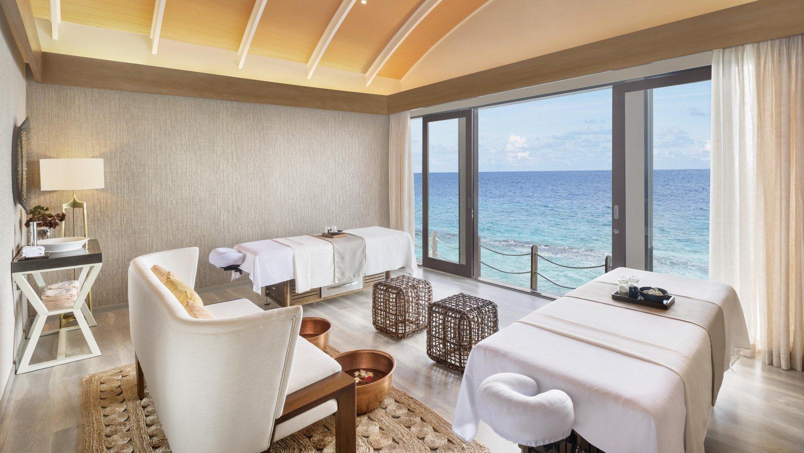 Мальдивы, отель JW Marriott Maldives Resort, спа