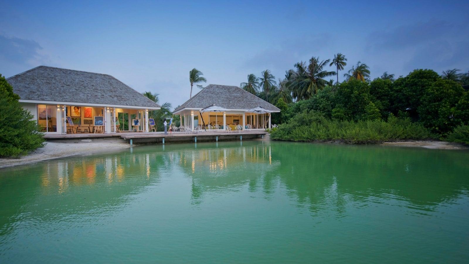 Мальдивы, отель Kandima Maldives, ресторан Aroma