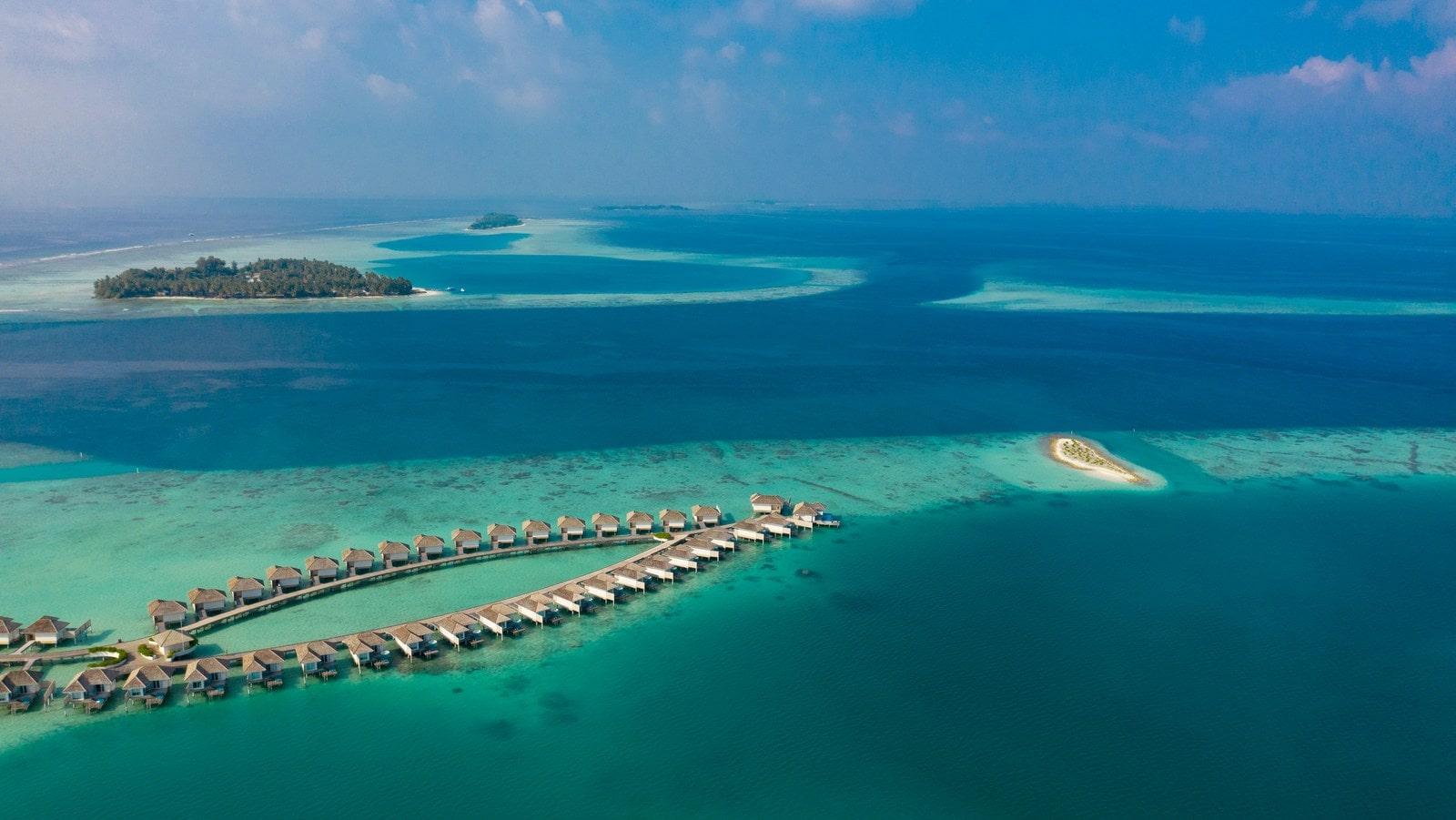 Мальдивы, отель Kandima Maldives, водные виллы