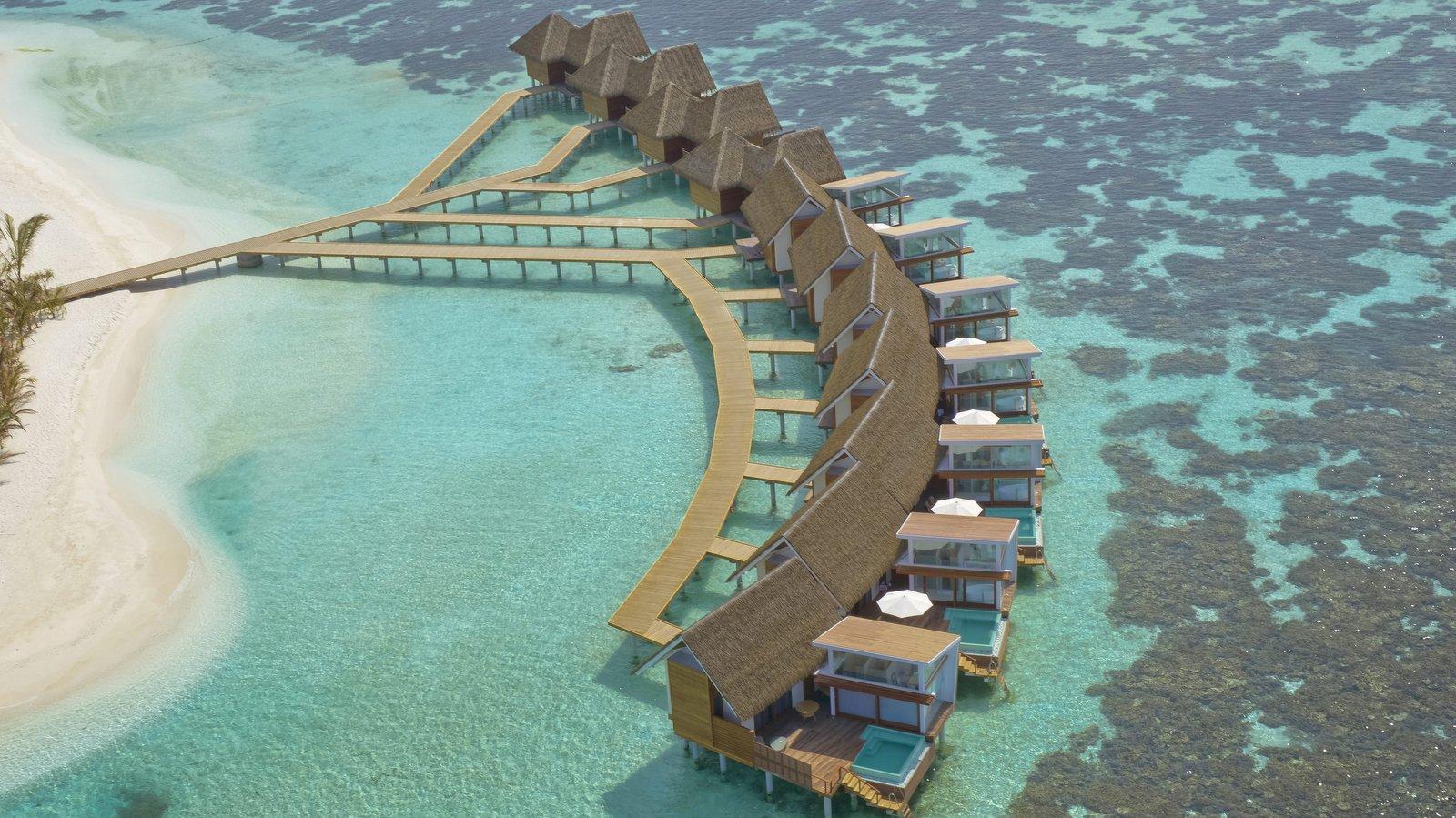 Мальдивы, отель Kandolhu Maldives, водные виллы
