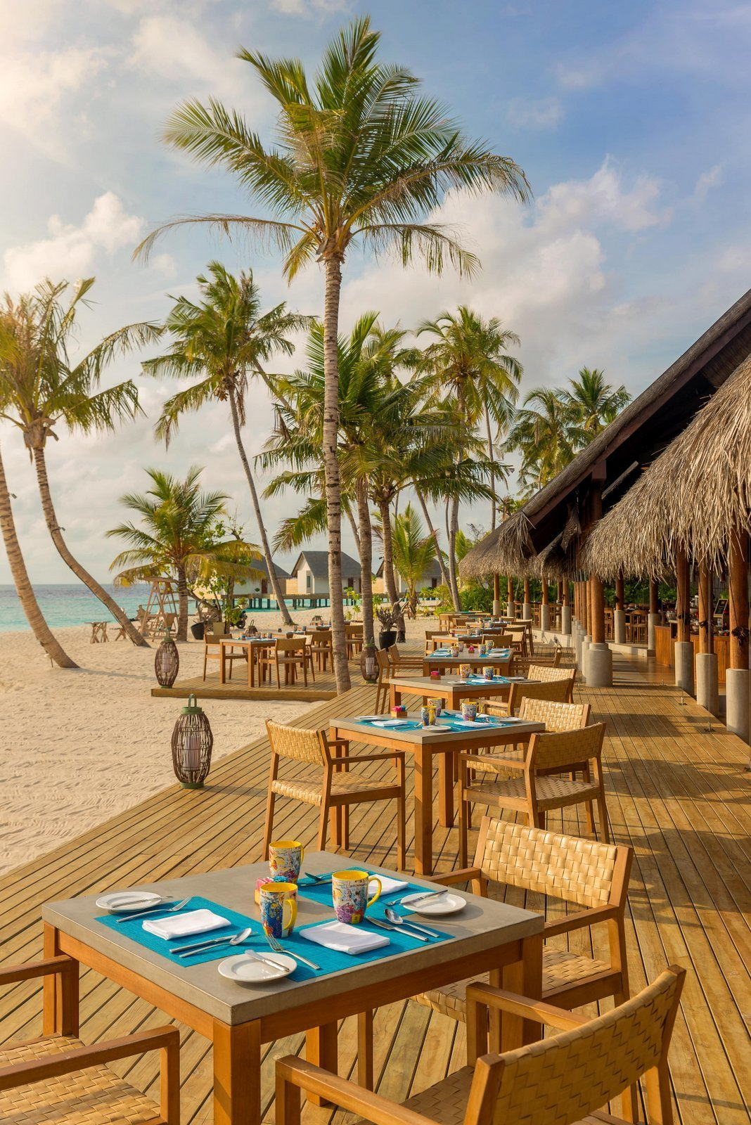 Мальдивы, отель Fushifaru Maldives, ресторан Korakali