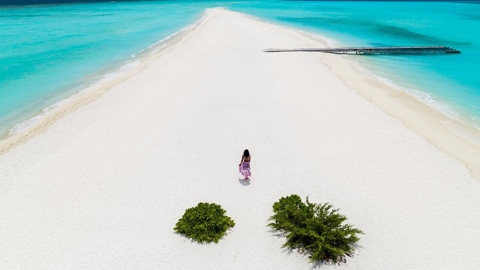 Мальдивы, отель Kuramathi Maldives, песчаная коса