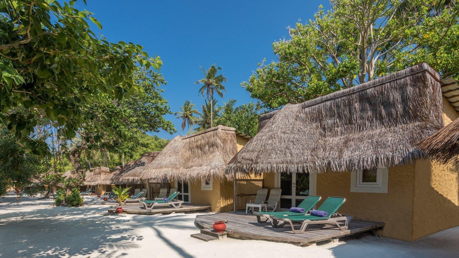 Мальдивы, отель Kuredu Island Resort, номер Garden Bungalow