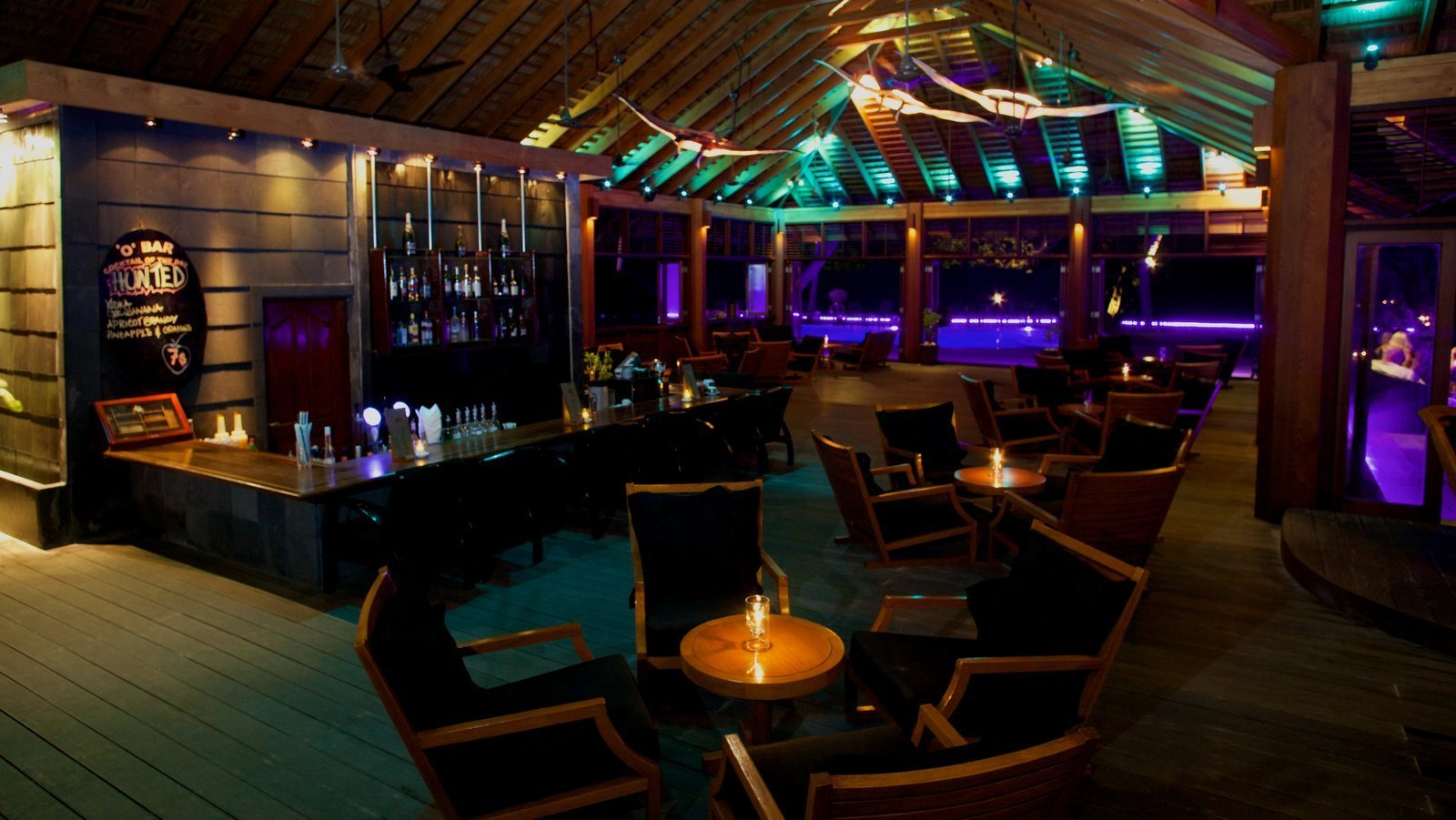 Мальдивы, отель Kuredu Island Resort, O Bar