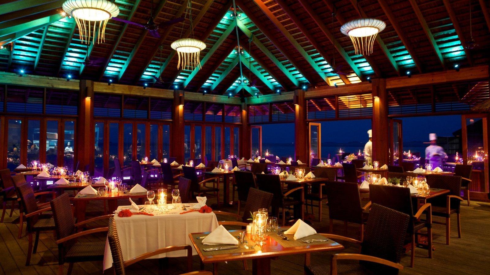Мальдивы, отель Kuredu Island Resort, O Restaurant