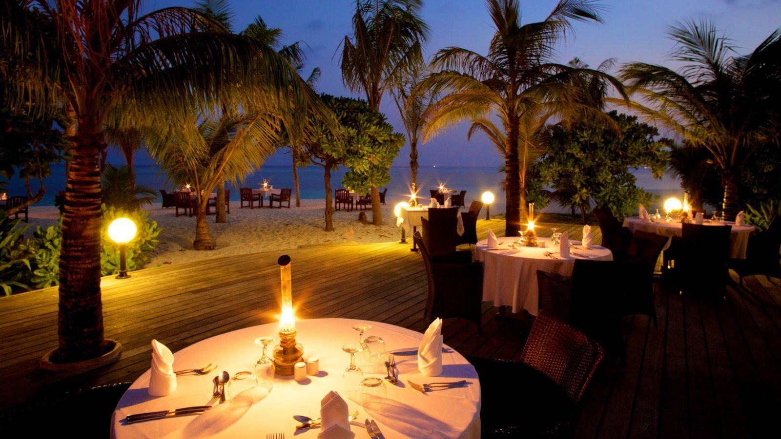 Мальдивы, отель Kuredu Island Resort, Sangu Restaurant