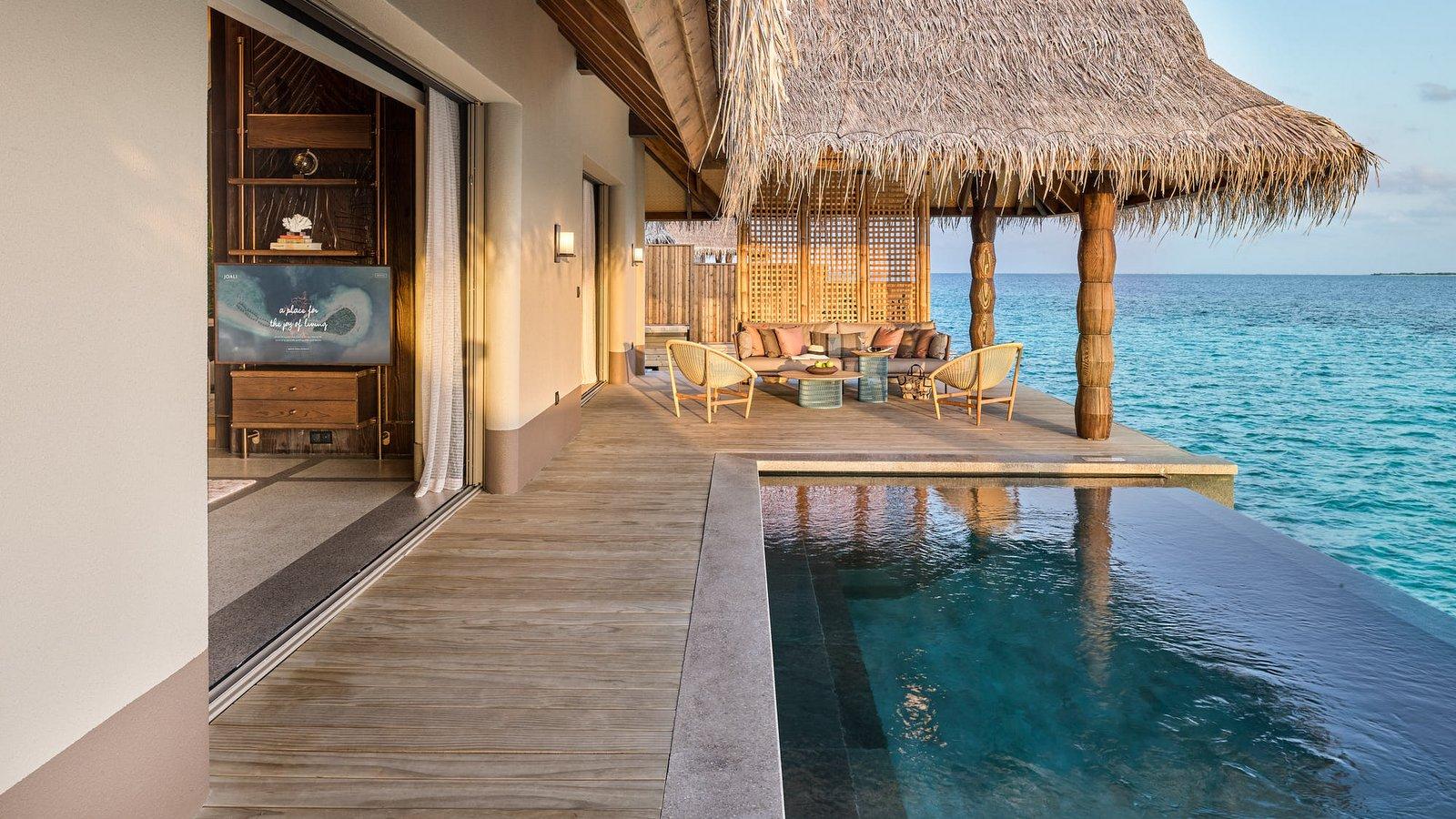 Мальдивы, отель Joali Maldives, номер Luxury Water Villa with Pool