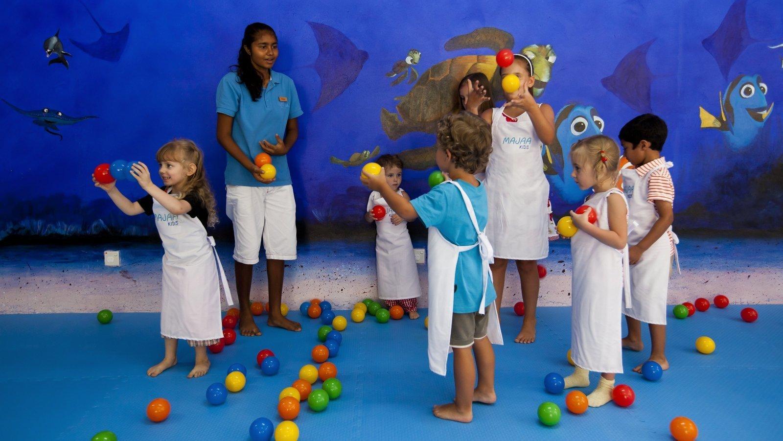 Мальдивы, отель Kurumba Maldives, детский клуб