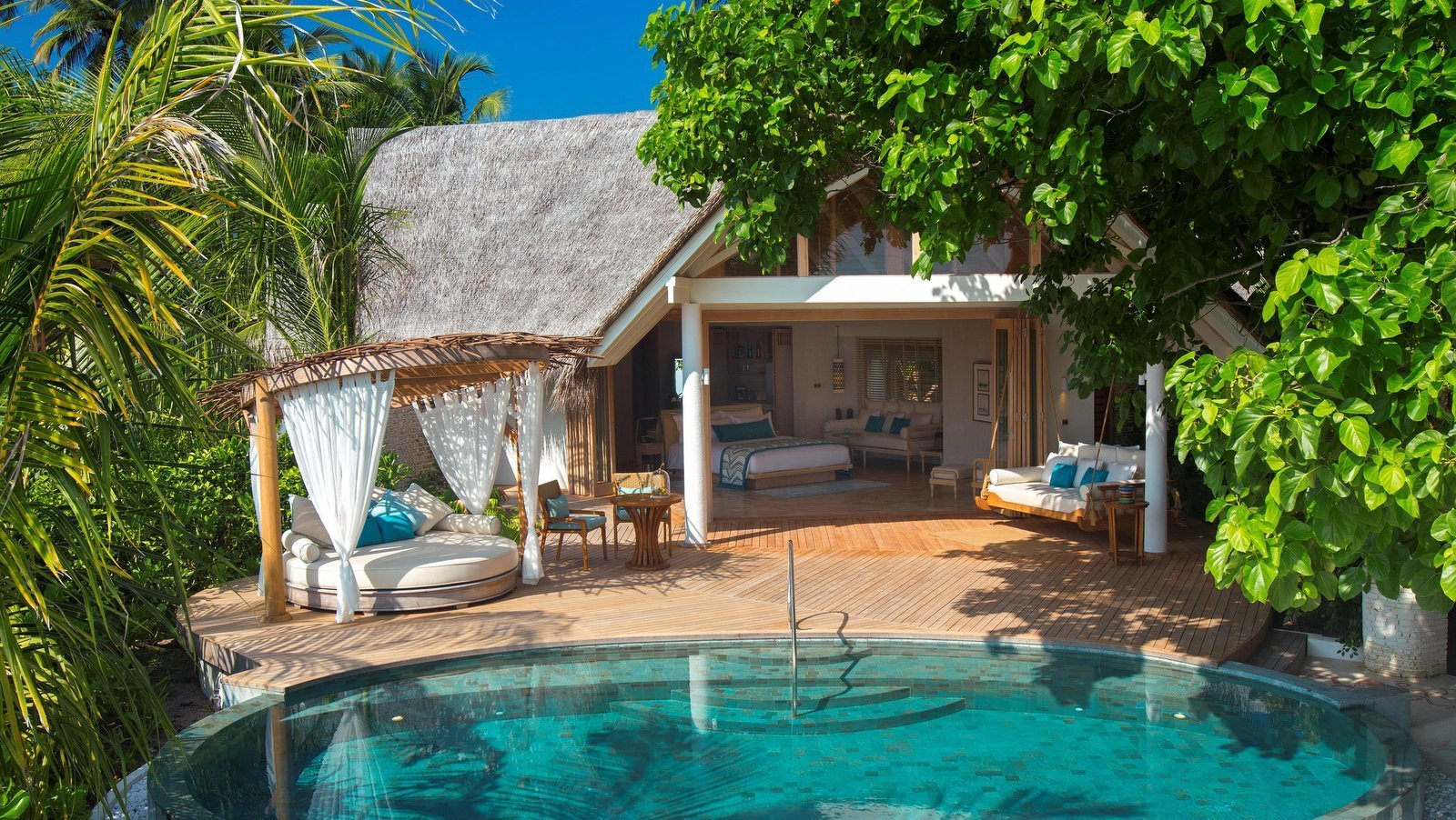 Мальдивы, отель Milaidhoo Island Maldives, номер Beach Pool Villa