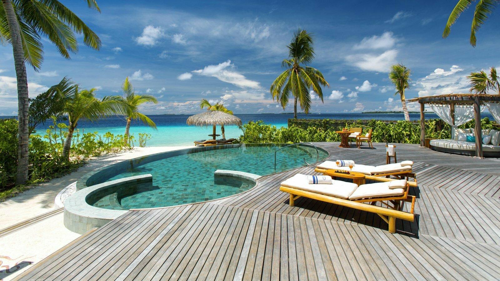 Мальдивы, отель Milaidhoo Island Maldives, номер Beach Residence