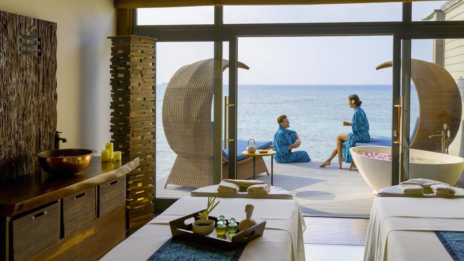 Мальдивы, отель Movenpick Resort Kuredhivaru Maldives, спа