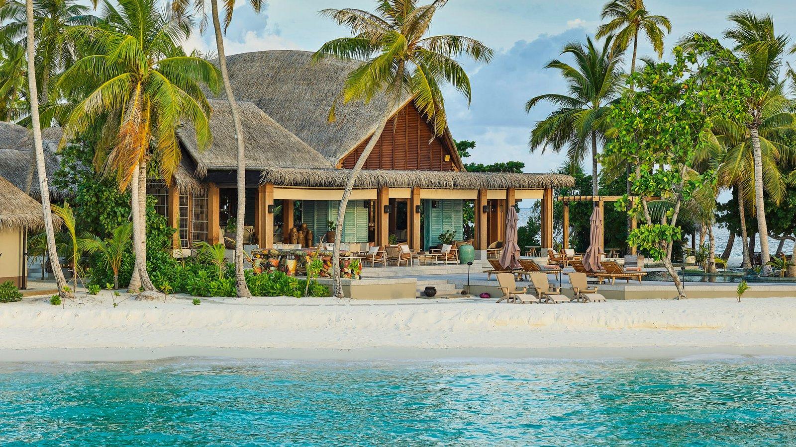 Мальдивы, отель Joali Maldives, ресторан Mura