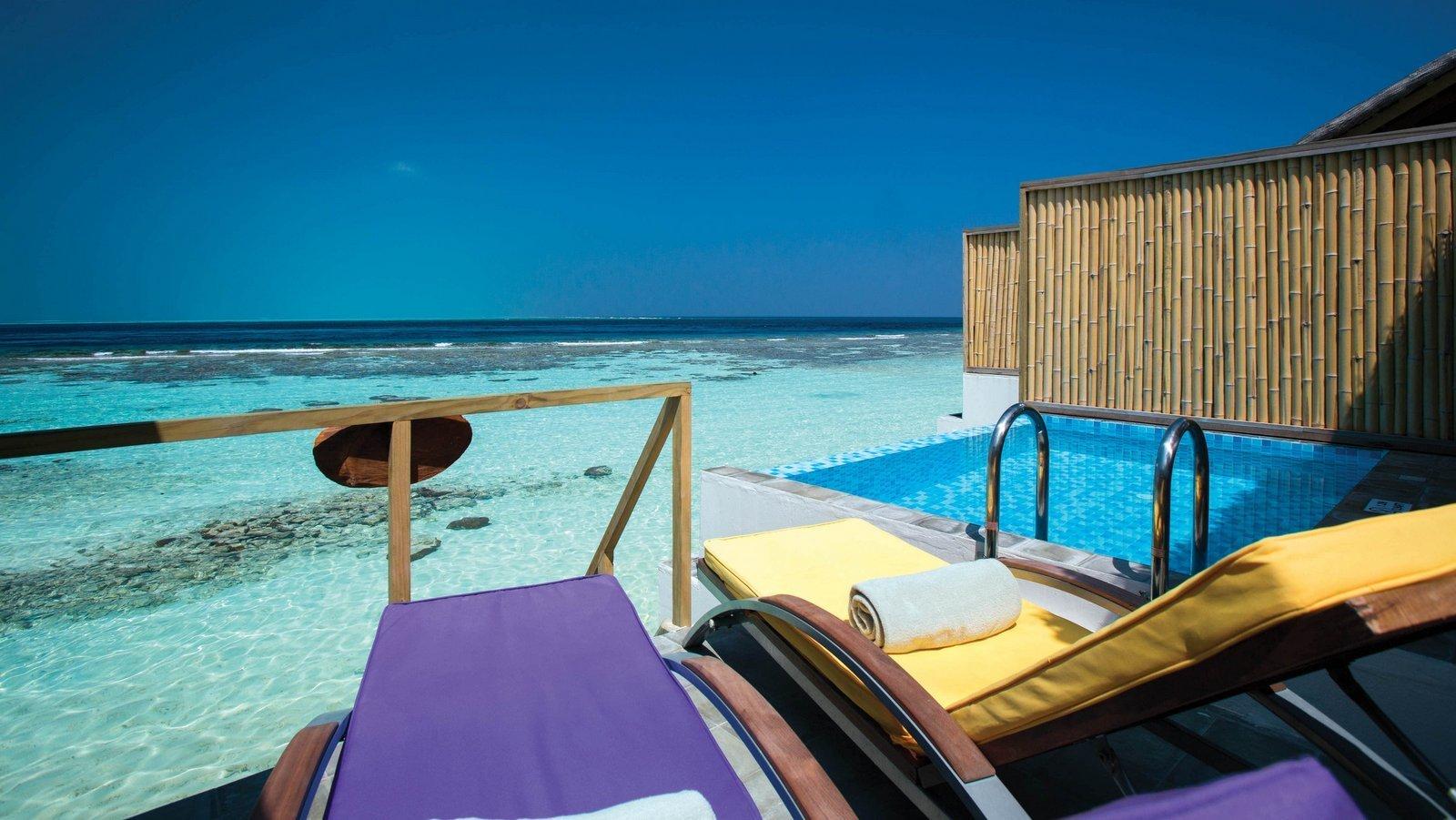 Мальдивы, отель OBLU by Atmosphere at Helengeli, номер Water Villa with Pool