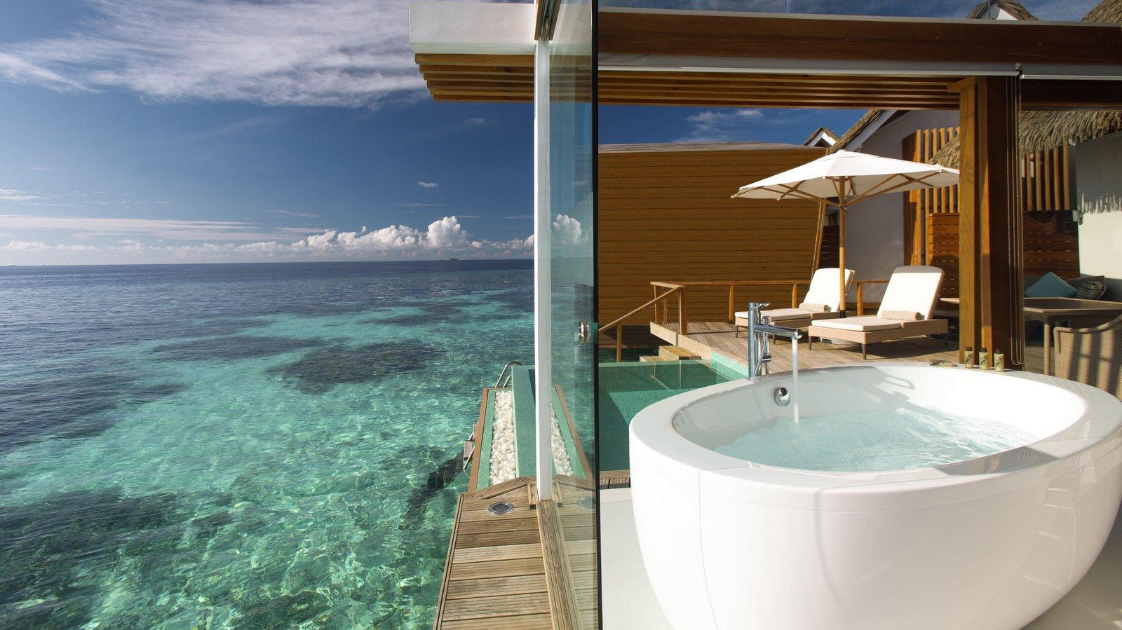 Мальдивы, отель Kandolhu Maldives, номер Ocean Pool Villa