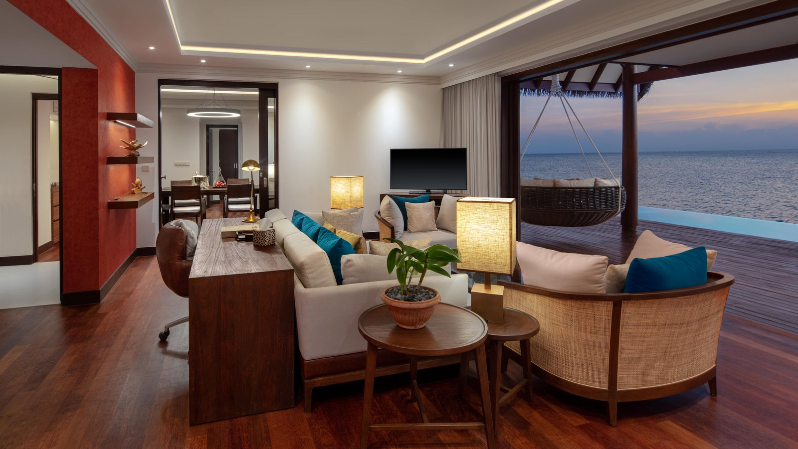 Мальдивы, отель Heritance Aarah, номер Ocean Residence