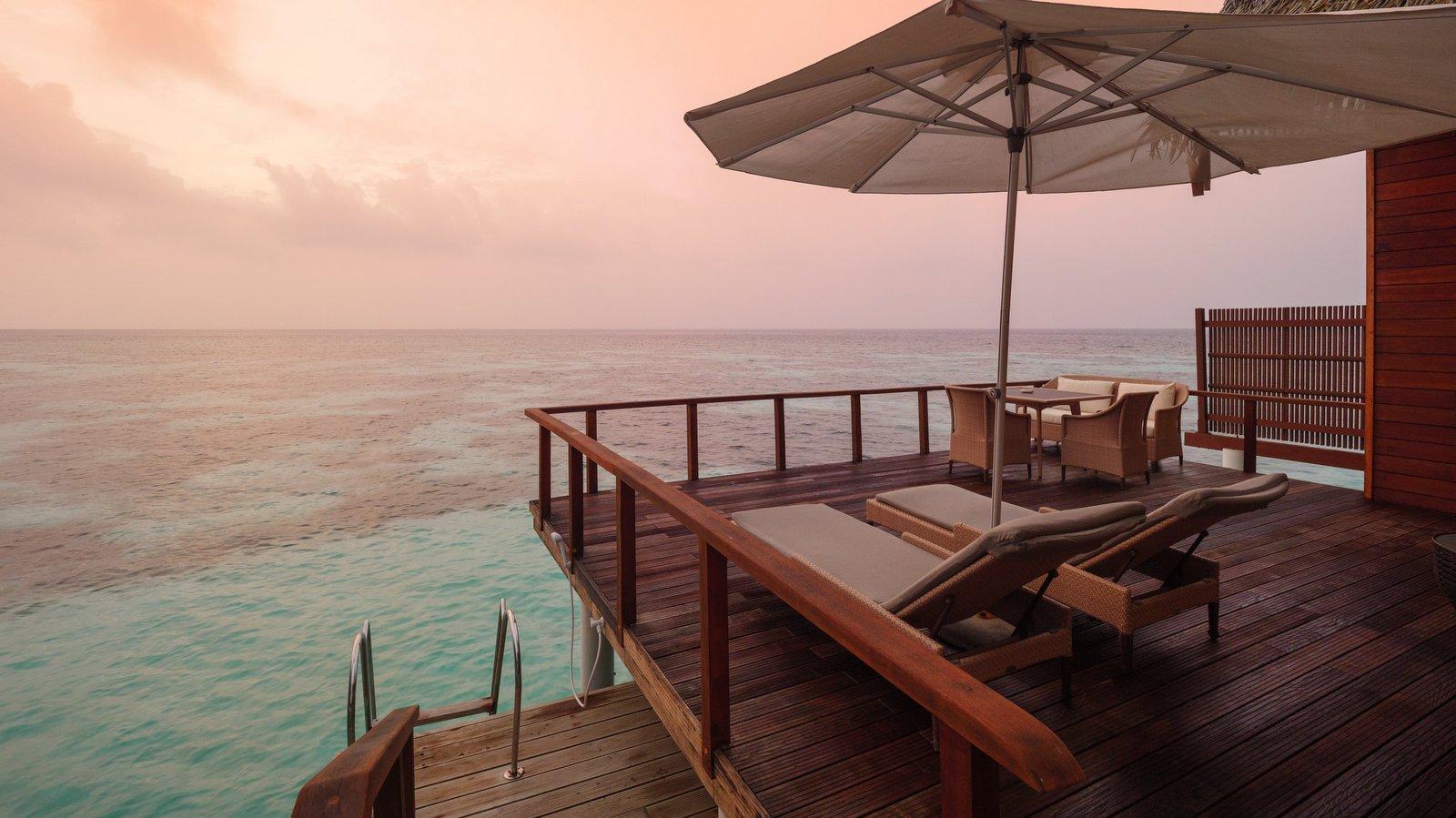 Мальдивы, отель Kandolhu Maldives, номер Ocean Villa