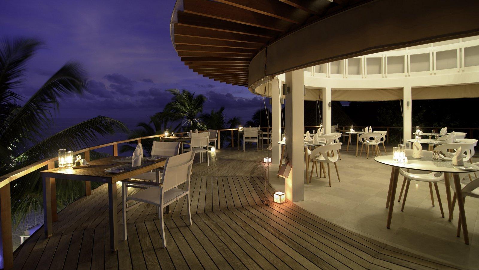 Мальдивы, отель Kandolhu Maldives, ресторан Olive