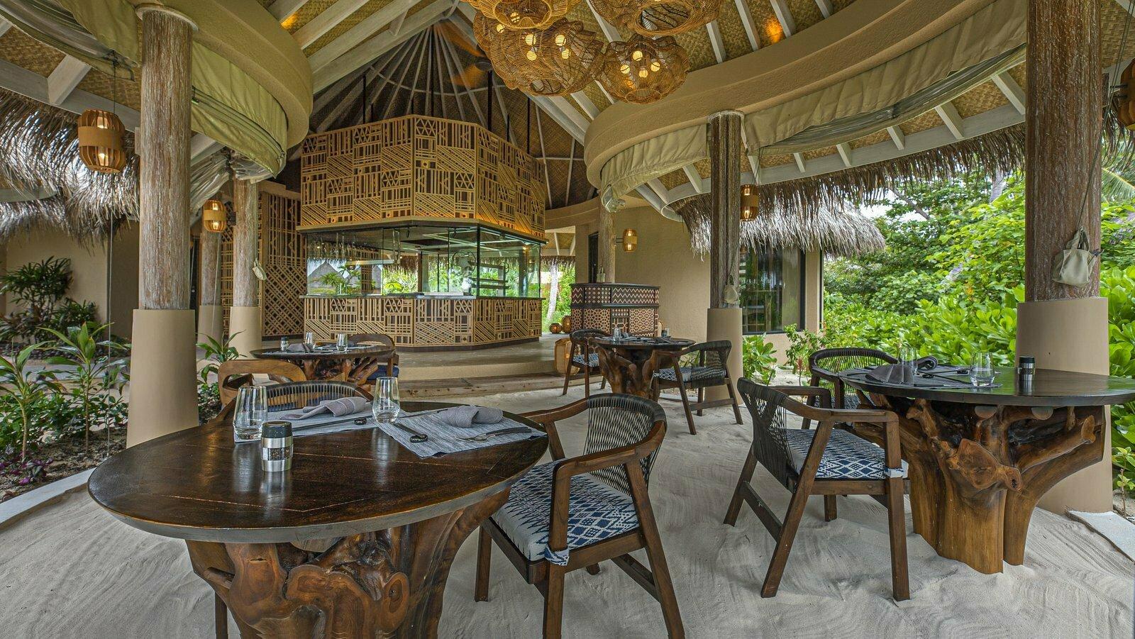 Мальдивы, отель The Nautilus Maldives, ресторан Ocaso