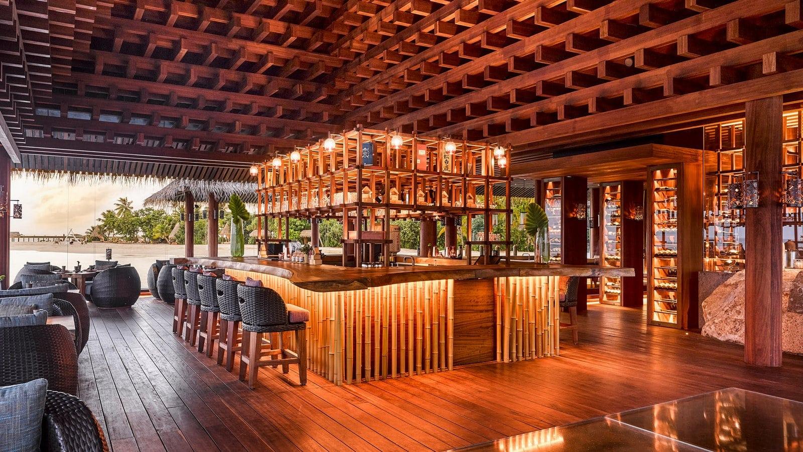 Мальдивы, отель Joali Maldives, ресторан Saoke