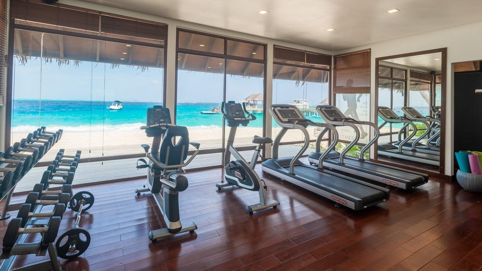 Мальдивы, отель Fushifaru Maldives, фитнес центр