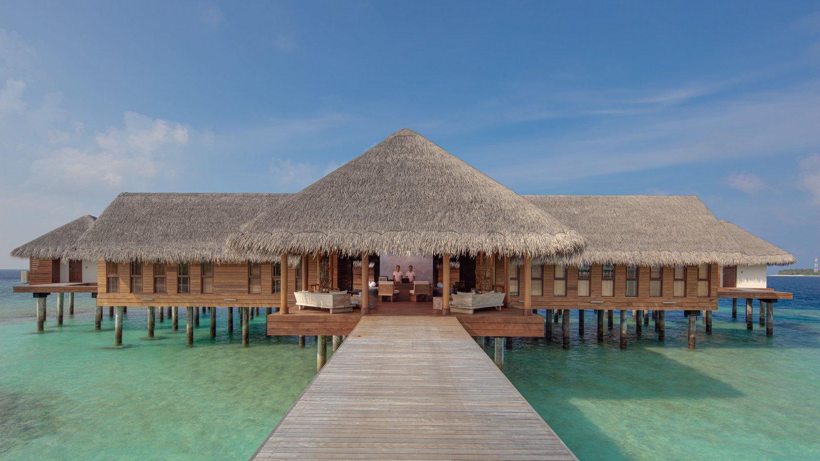 Мальдивы, отель Heritance Aarah, спа