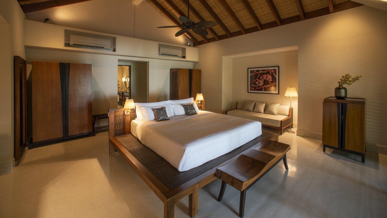Мальдивы, отель The Residence Maldives at Dhigurah, номер Beach Pool Villa