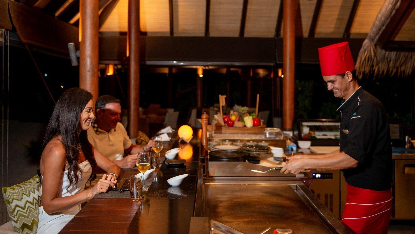 Мальдивы, отель Fushifaru Maldives, ресторан Teppenyaki
