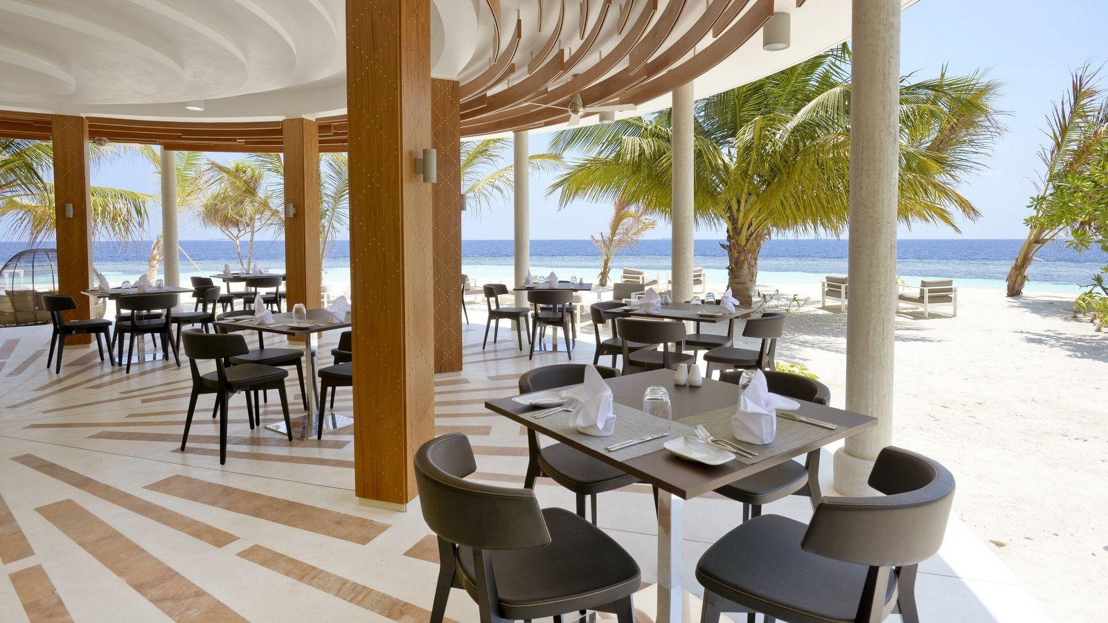 Мальдивы, отель Kandolhu Maldives, ресторан Sea Grill
