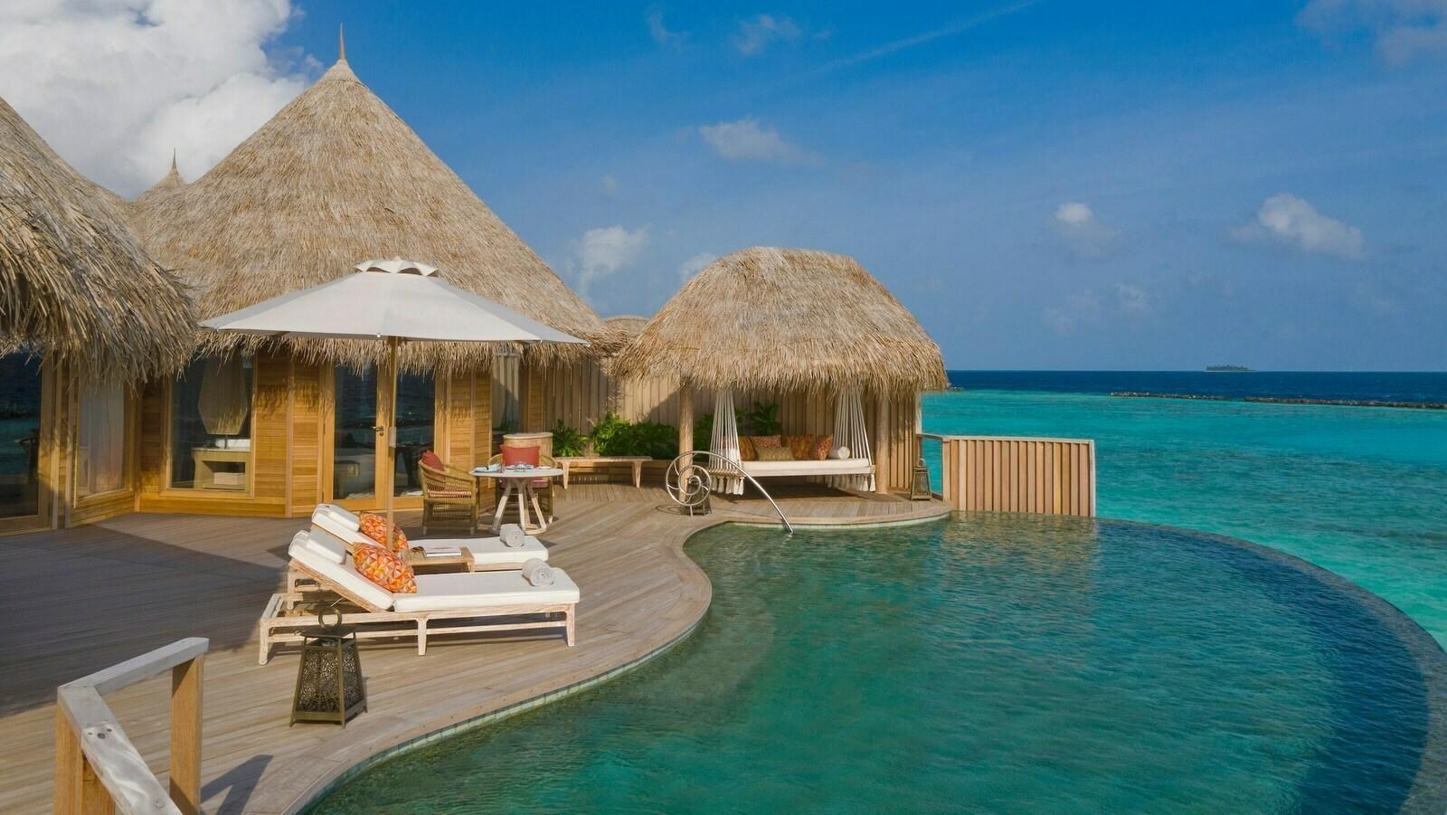 Мальдивы, отель The Nautilus Maldives, номер One-Bedroom Ocean Residence