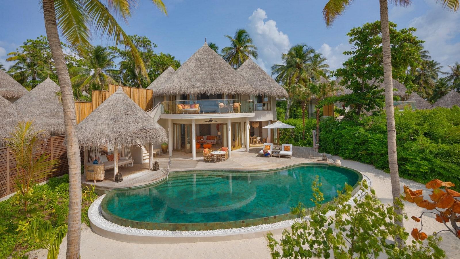 Мальдивы, отель The Nautilus Maldives, номер One-Bedroom Beach Residence