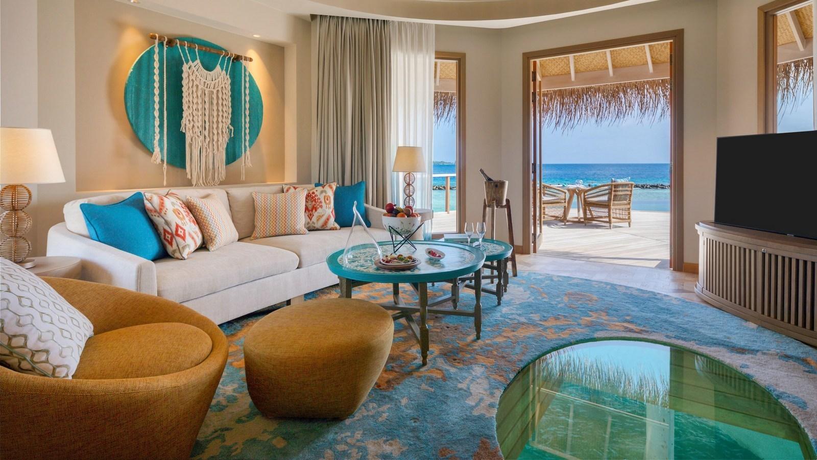 Мальдивы, отель The Nautilus Maldives, номер Ocean House