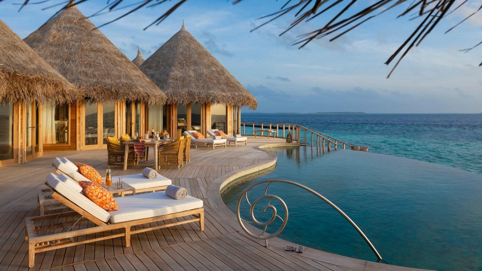 Мальдивы, отель The Nautilus Maldives, номер Two-Bedroom The Nautilus Retreat