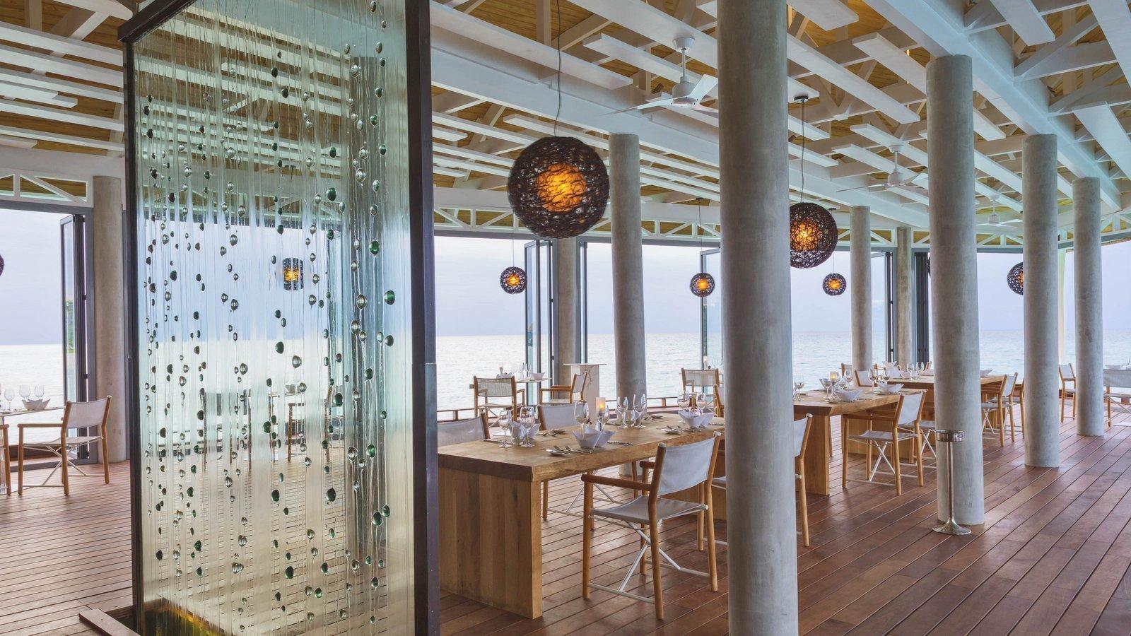 Мальдивы, отель Kuramathi Maldives, ресторан The Reef