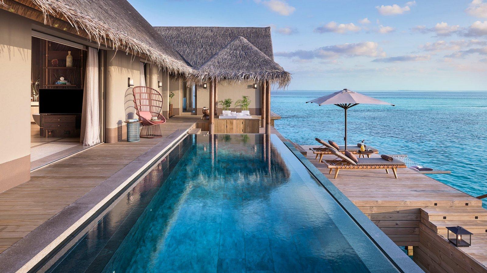 Мальдивы, отель Joali Maldives, номер Three Bed Room Ocean Residence with Two Pool