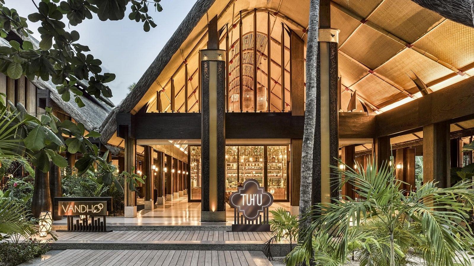 Мальдивы, отель Joali Maldives, ресторан Tuhu