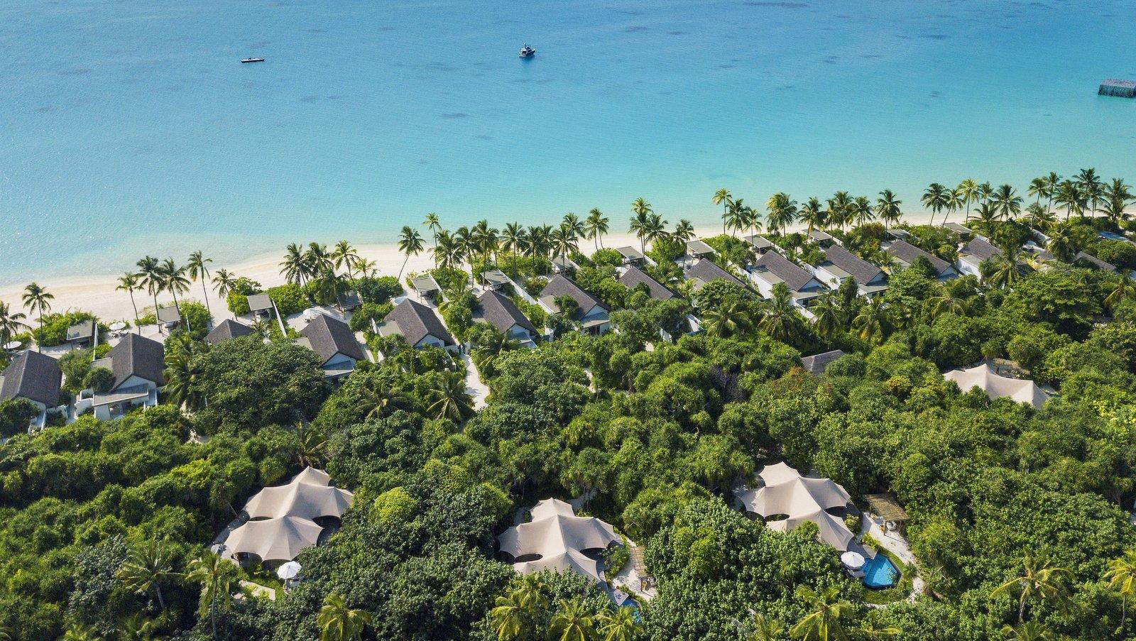 Мальдивы, отель Fairmont Maldives Sirru Fen Fushi