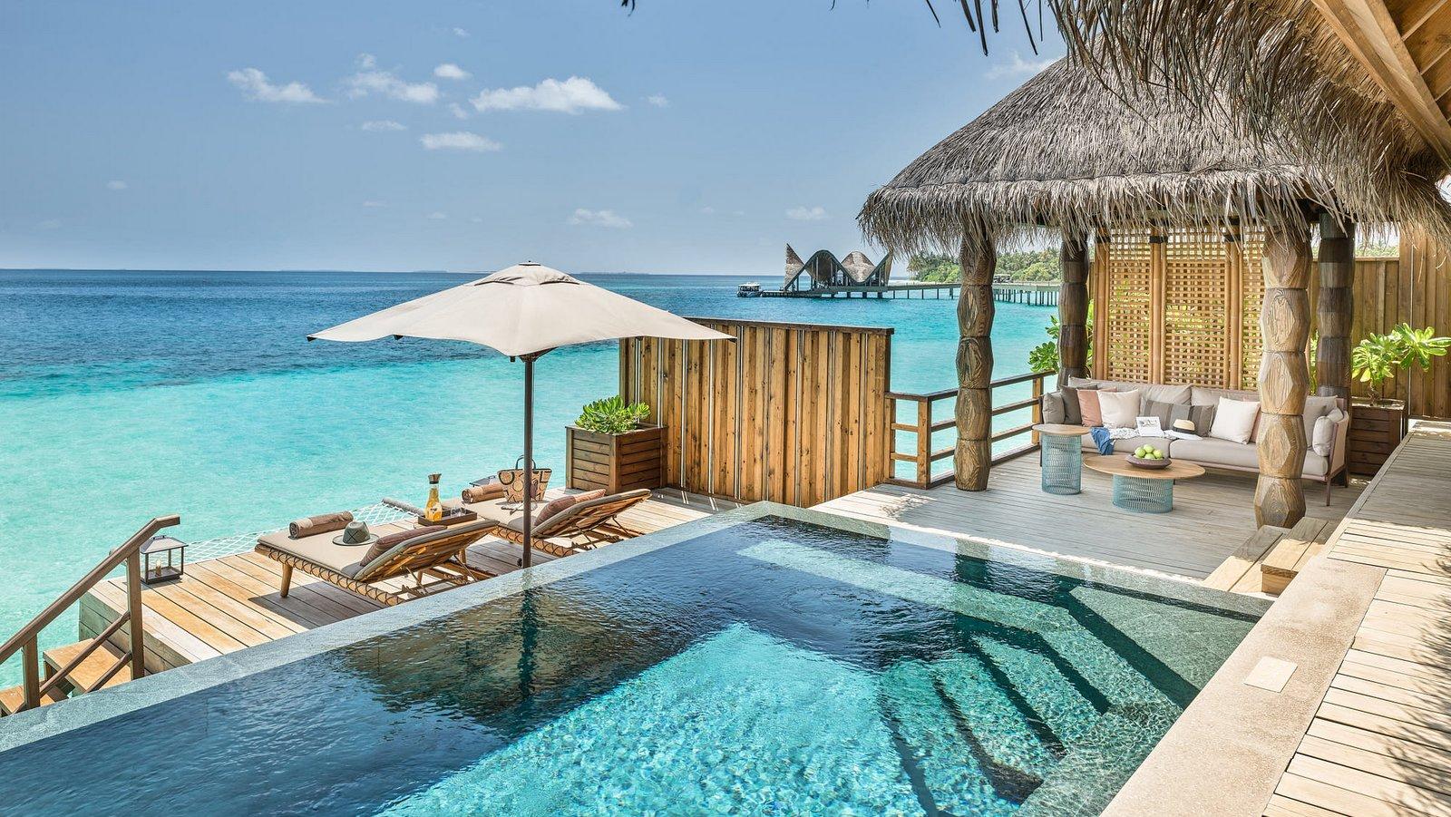 Мальдивы, отель Joali Maldives, номер Water Villa with Pool