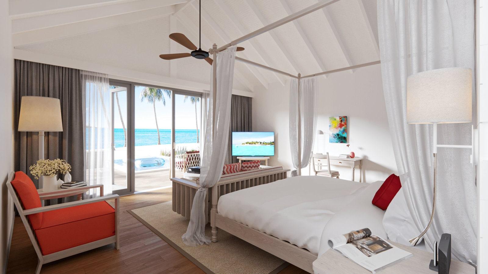 Мальдивы, отель Cora Cora Maldives, номер Beach Pool Villa