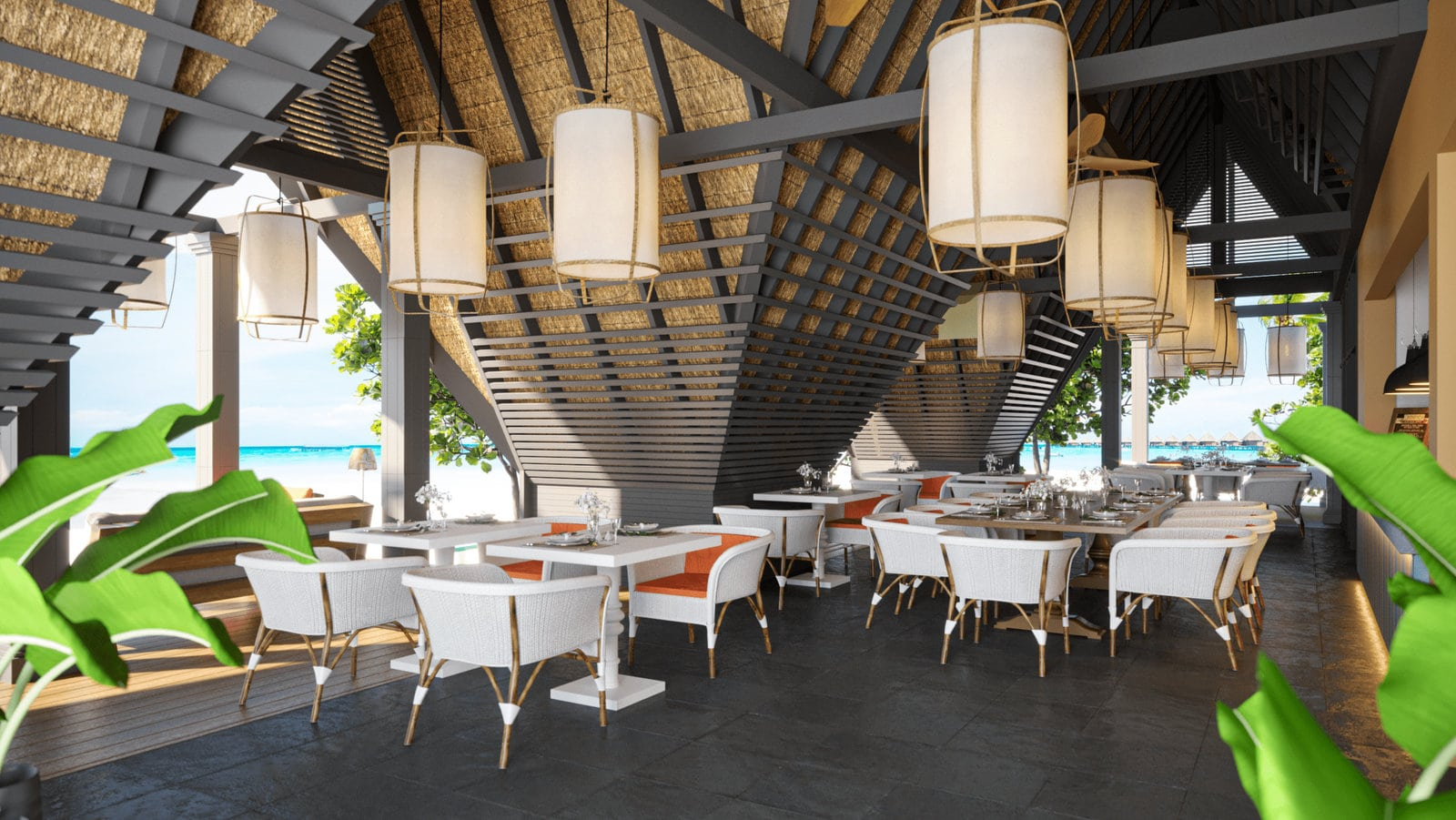 Мальдивы, отель Cora Cora Maldives, ресторан Ginger Moon