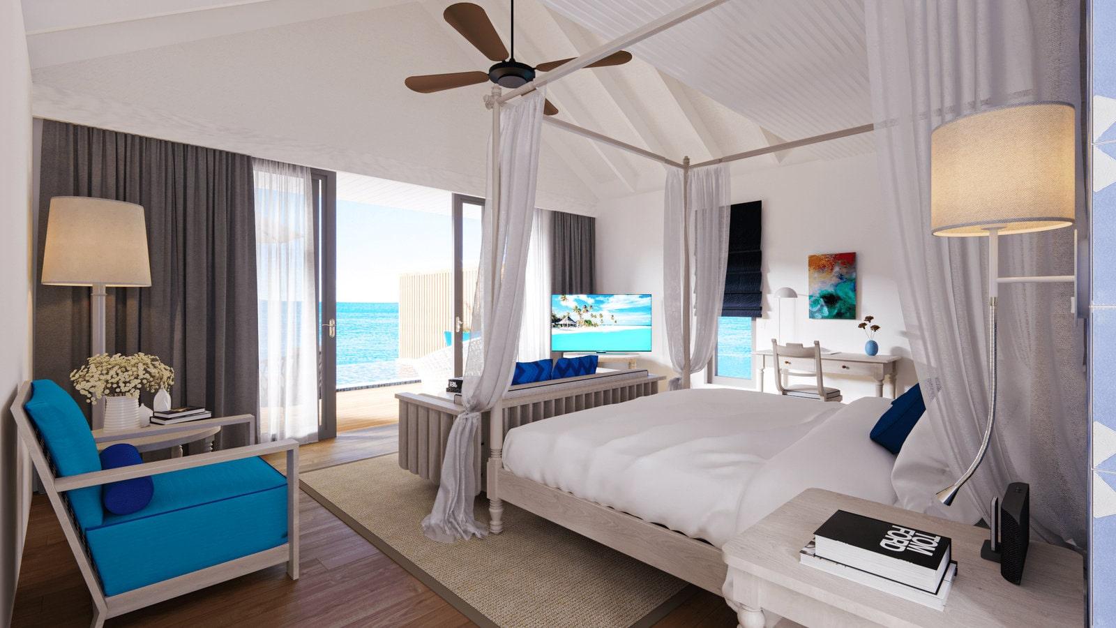 Мальдивы, отель Cora Cora Maldives, номер Lagoon Villa