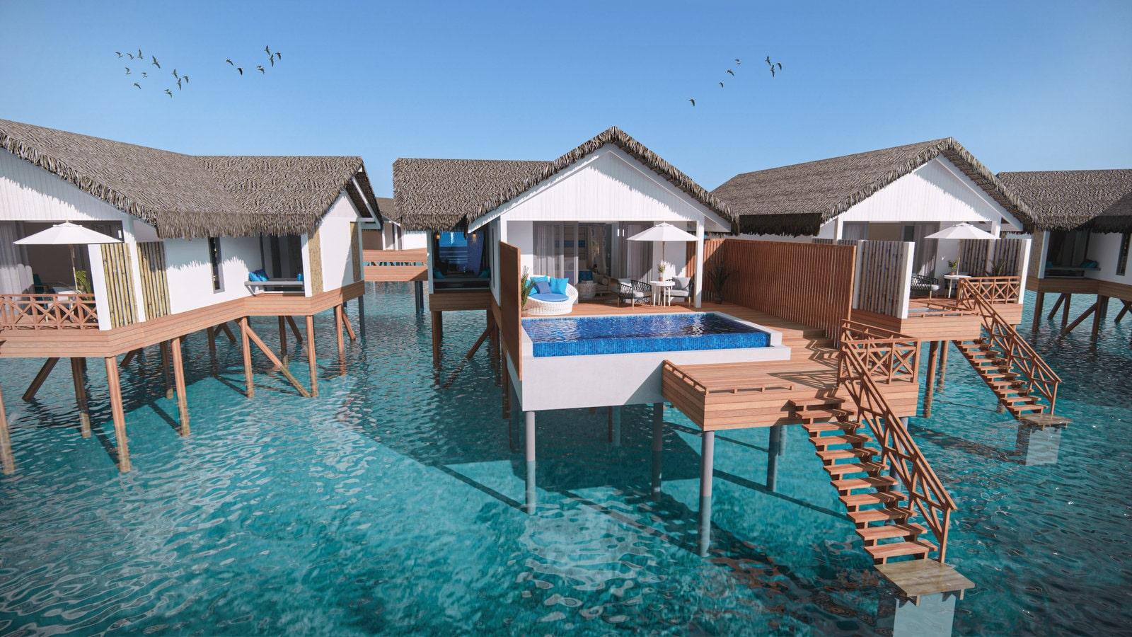 Мальдивы, отель Cora Cora Maldives, номер Lagoon Pool Villa