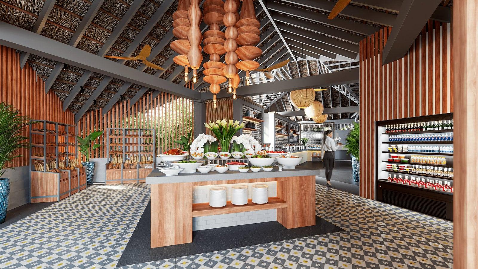 Мальдивы, отель Cora Cora Maldives, ресторан Tazaa
