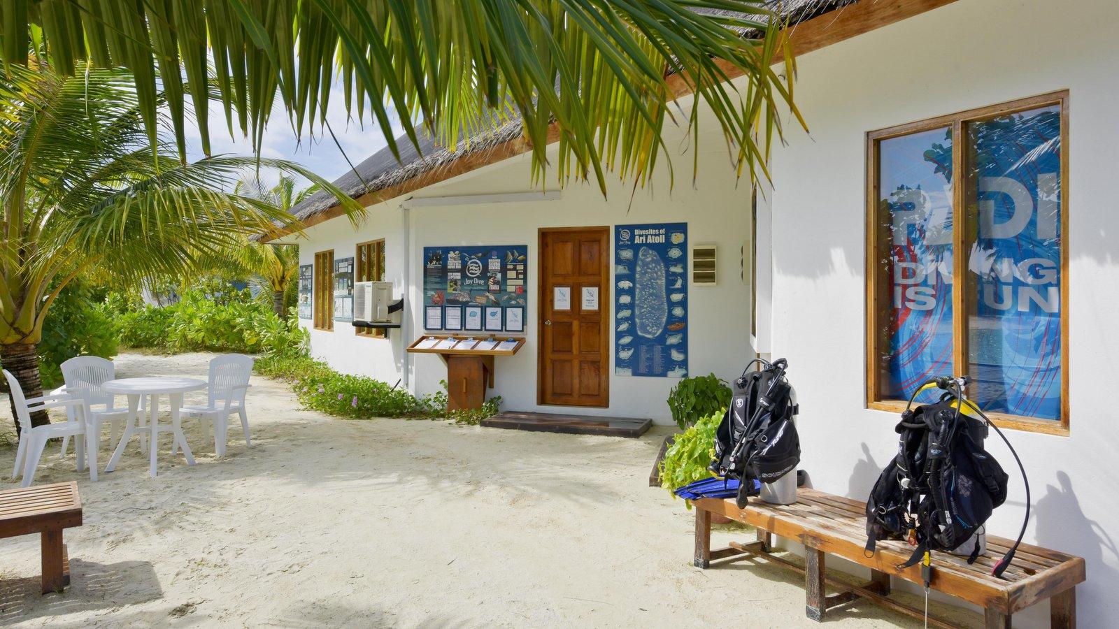 Мальдивы, отель Safari Island Resort & Spa, дайвинг центр