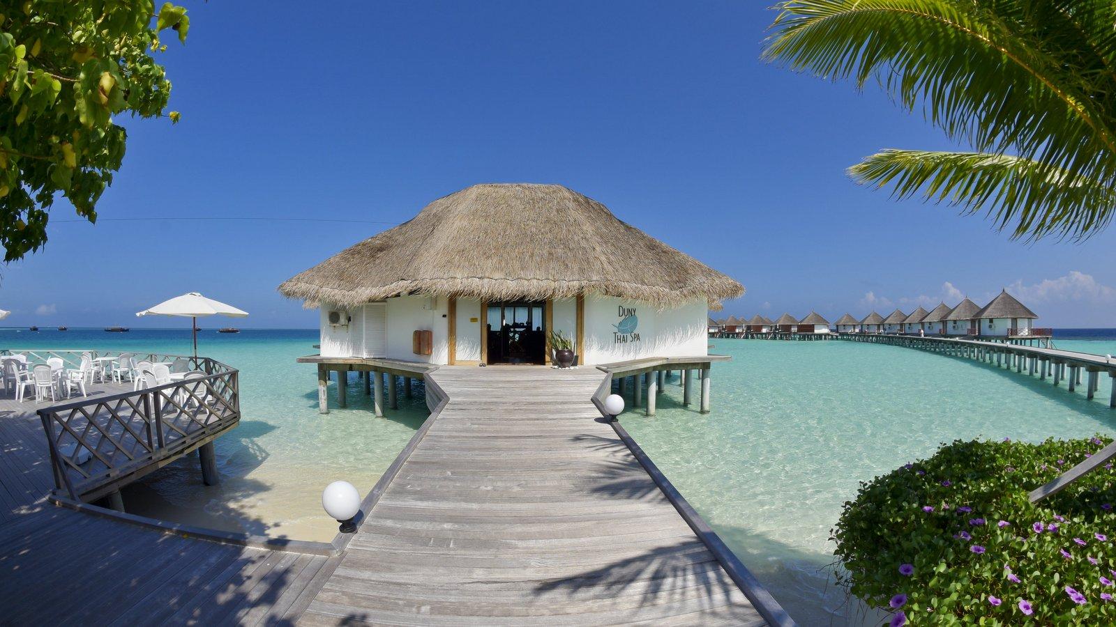Мальдивы, отель Safari Island Resort & Spa, спа