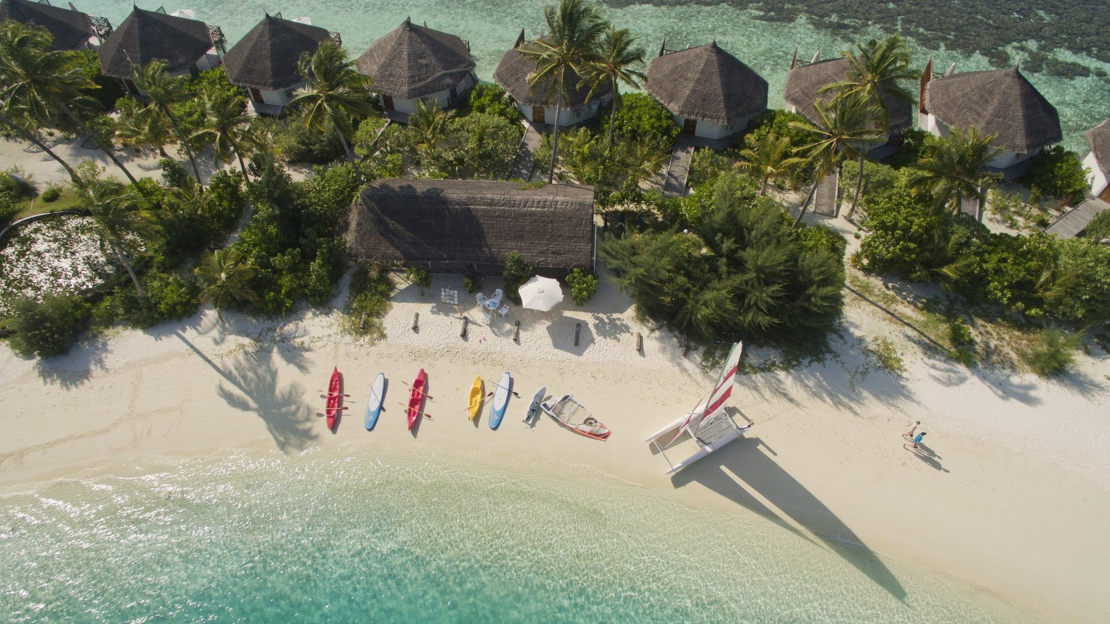 Мальдивы, отель Safari Island Resort & Spa, центр водных видов спорта